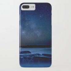 Dark Night California Coastal Waters Slim Case iPhone 7 Plus