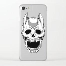Killer Queen Skull (JoJo's Bizarre Adventure) Clear iPhone Case