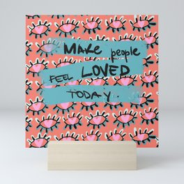 Feel the Love Mini Art Print