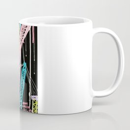 New York Cranes Coffee Mug