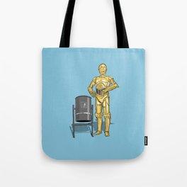 C3PO & Trash Tote Bag