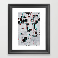 fylss ynyglyph Framed Art Print