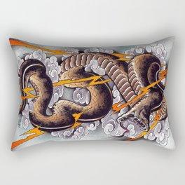 Lightning Cobra Rectangular Pillow
