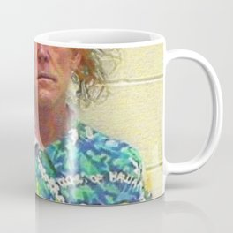 Nick Nolte Mugshot Mug Shot Painting Vertical Coffee Mug