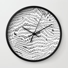 Pattern DADA Wall Clock