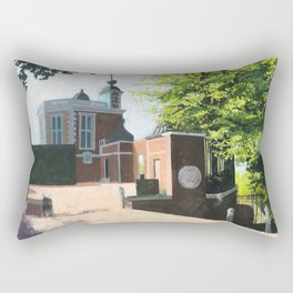 The Royal Observatory in Greenwich London Rectangular Pillow