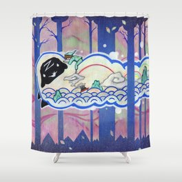 Oh The Places You'll Go Shower Curtain