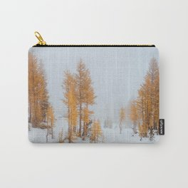 Vibrant Larch Trees Carry-All Pouch