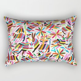 Colores de Primavera Rectangular Pillow
