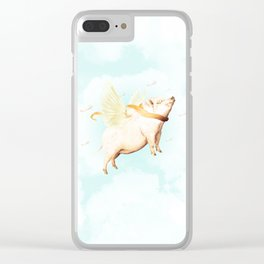 The Red Bacon Clear iPhone Case