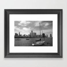 Lakeside Chicago Framed Art Print