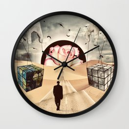 The Road to Nowhere Wall Clock