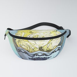 Vase of Yellow Roses Fanny Pack
