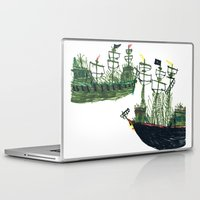 ships Laptop & iPad Skins featuring Ships by kiwiroom