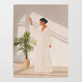 Opened Window Poster