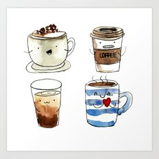For coffee lover Art Print