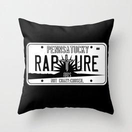 Pennsatucky's Rapture Bus Throw Pillow
