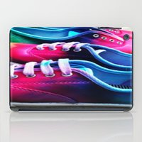 sneakers iPad Cases featuring sneakers by NatalieBoBatalie