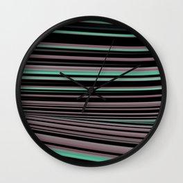 Classy Stripes Wall Clock