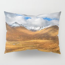 Distant Snow Pillow Sham