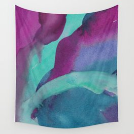 Watercolor abstraction Wall Tapestry