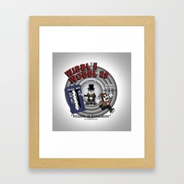Wibblie Wobblies - Trouble at Trenzalore Framed Art Print