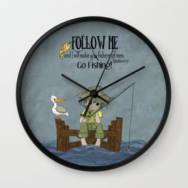 I'll Make You Fishers of Men Wall Clock