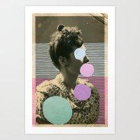 coco Art Prints featuring Coco by Naomi Vona