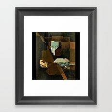 Marie v2 Bronzino Framed Art Print