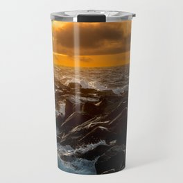 Redondo Beach Sunset Travel Mug