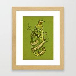 F#ck Pumpkin... Got Cucumber? Framed Art Print