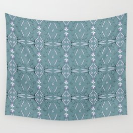 morning dew folklore pattern Wall Tapestry
