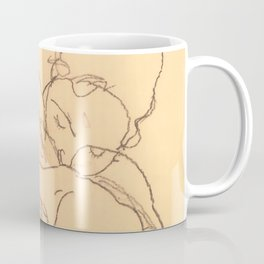 "Egon Schiele ""Woman and Girl Embracing"" Coffee Mug"