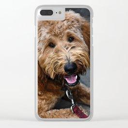 Good Doggo Clear iPhone Case