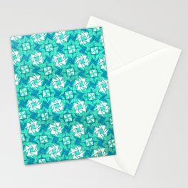 Aquamarine  Stationery Cards