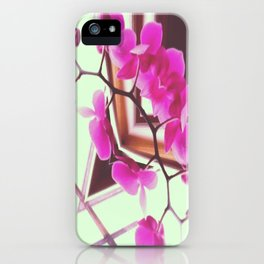 Orchid Manipulation iPhone Case