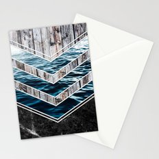 Striped Materials of Nature III Stationery Cards