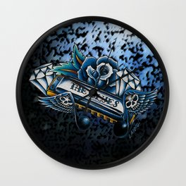 Blues Harp  Wall Clock