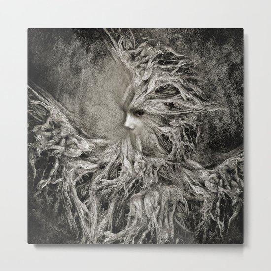Greek goddess Gaia. Metal Print