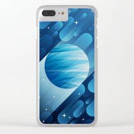 Neptune Clear iPhone Case