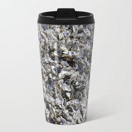 Shucked Oyster Shells Travel Mug