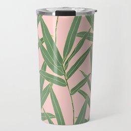 Elegant bamboo foliage design Travel Mug