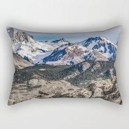 El Chalten Landcape Andes Patagonian Mountains, Agentina Rectangular Pillow