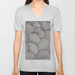 Black Forms I Unisex V-Neck