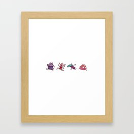 Team Wolf Framed Art Print