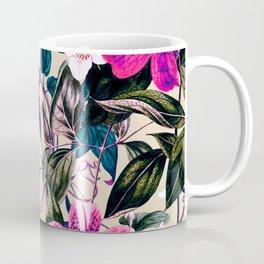 Pattern antique botanical flowers Coffee Mug