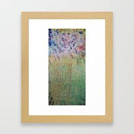 Springtime Feeling Framed Art Print