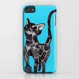 Giraffe Cat 2. iPhone Case