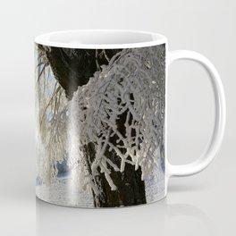 Frost Covered Tree Coffee Mug