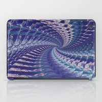 psych iPad Cases featuring Purple Psych v2 by Grace Phillips